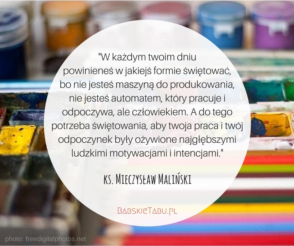 Cytat tygodnia #62 – ks. Mieczysław Maliński