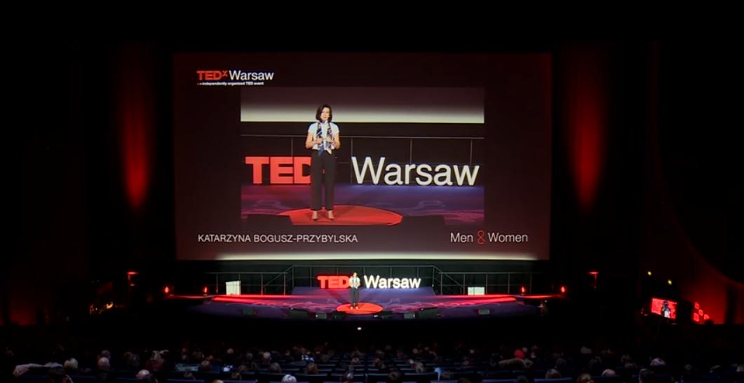 TEDx Warsaw Sztuka ma moc artecoaching artecoach Katarzyna Bogusz-Przybylska